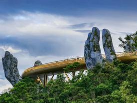 Cầu Vàng Đà Nẵng lọt top những cầu đi bộ ấn tượng nhất thế giới