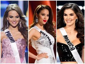 Phạm Hương xuất sắc nhất trong dàn mỹ nhân Miss Universe được trao giải 'đẹp nhưng nhọ' Ruth Ocumarez
