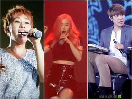 Khoảnh khắc idol Kpop 'mất trí nhớ' cầm ngược mic trên sân khấu