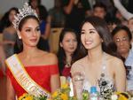 Cùng trong một khung hình, Hoa hậu Thu Ngân đẹp hơn hẳn Miss Global 2017