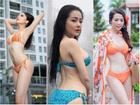 Mặc áo tắm gợi cảm, Ngân 98 và 5 người đẹp Việt lộ số đo vòng 3 thật