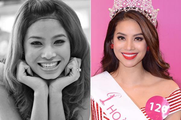 Lộ ảnh Hoa hậu Phạm Hương thuở 18: cằm chẻ đôi, môi hững hờ lên ảnh nghìn kiểu như một-12