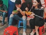 Trường Giang đi dép tổ ong lê la ăn uống vỉa hè cùng Hương Giang Idol