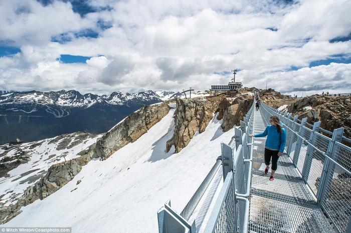 Cây cầu treo ở độ cao 2000m khiến ai cũng rụng tim khi bước lên-6