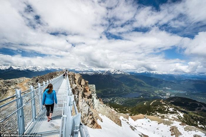Cây cầu treo ở độ cao 2000m khiến ai cũng rụng tim khi bước lên-7