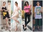 Chán kín đáo, Angela Phương Trinh quay về mốt áo trong suốt lộ nội y nổi bật nhất STREET STYLE sao Việt