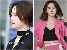 Tháng trước vẫn tròn vo vì tăng 10kg, tháng này 'nàng Cỏ' Goo Hye Sun đã tái xuất bất ngờ với sắc vóc 'vạn người mê'