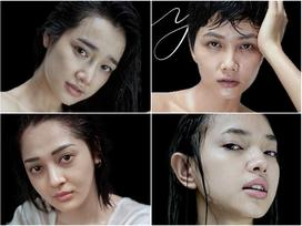 Không make up, không photoshop, mặt mộc thật sự của dàn mỹ nhân Việt khiến nhiều người ngỡ ngàng