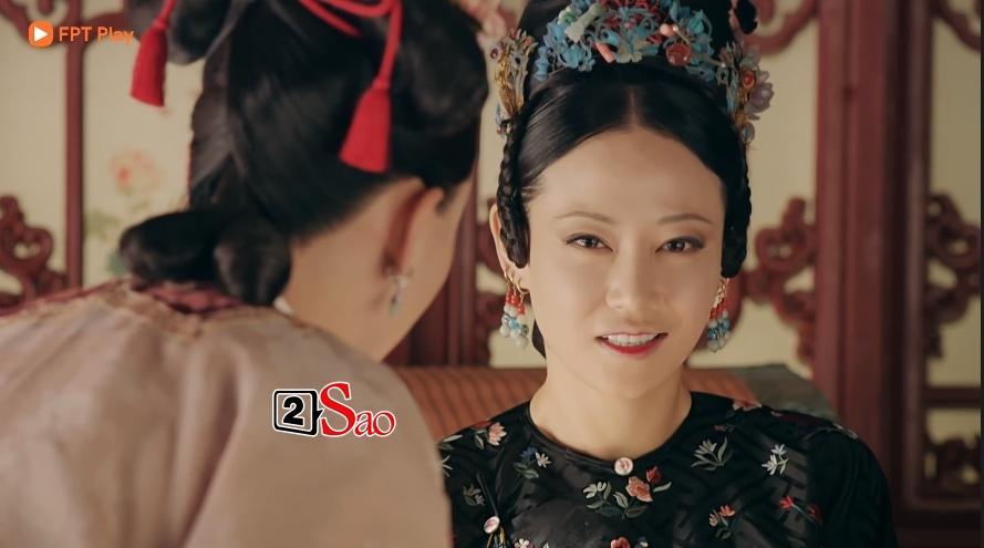 Lác mắt với hàng lông mày con đậu con bay từ hoàng hậu tới cung nữ trong Diên Hi Công Lược đình đám-3