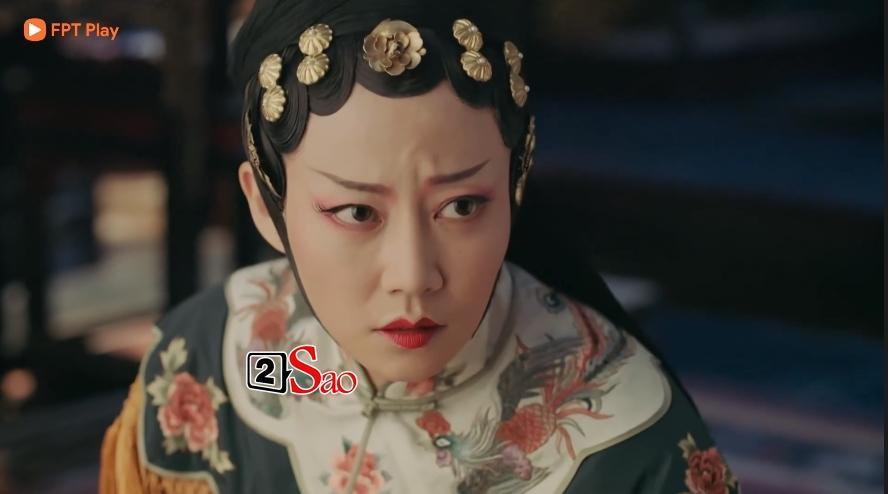 Lác mắt với hàng lông mày con đậu con bay từ hoàng hậu tới cung nữ trong Diên Hi Công Lược đình đám-4