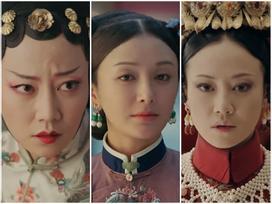 Lác mắt với hàng lông mày 'con đậu con bay' từ hoàng hậu tới cung nữ trong 'Diên Hi Công Lược' đình đám