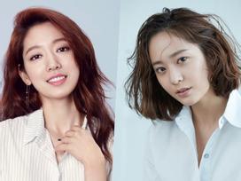 Cặp đôi 'Những người thừa kế' Park Shin Hye và Krystal thể hiện tình cảm thân thiết
