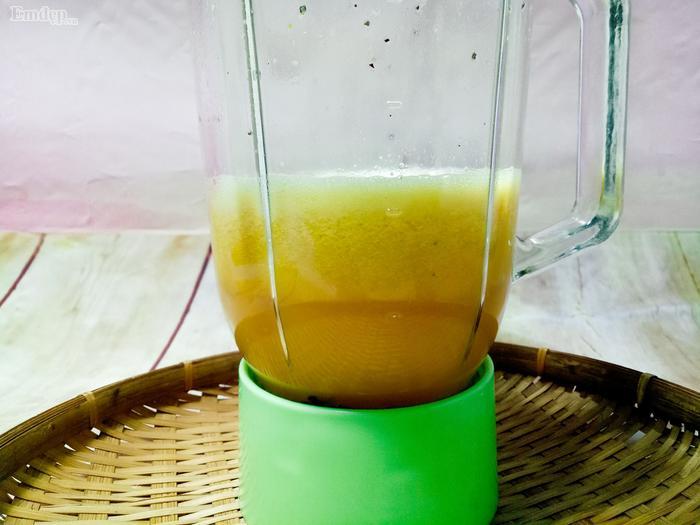 Tích tắc có ngay ly si rô chanh dây thơm mát, uống là mê-4