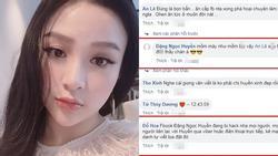 Huyền Baby khóc dở mếu dở vì bị hacker oanh tạc Facebook