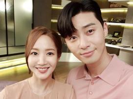 Park Min Young và Park Seo Joon 'chiếm sóng' showbiz Hàn tháng 8