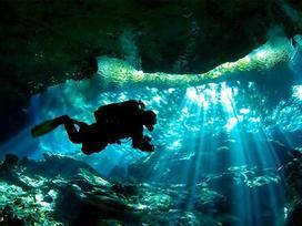 Điểm bơi lội trong hang tốt nhất thế giới ở Mexico