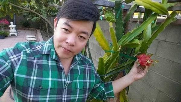 Khu vườn ngập cây trái Việt như nông dân thứ thiệt của Quang Lê ở Mỹ-3