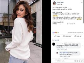 Rộ nghi vấn Mâu Thủy 'mất suất' thi Hoa hậu Trái Đất vì mâu thuẫn