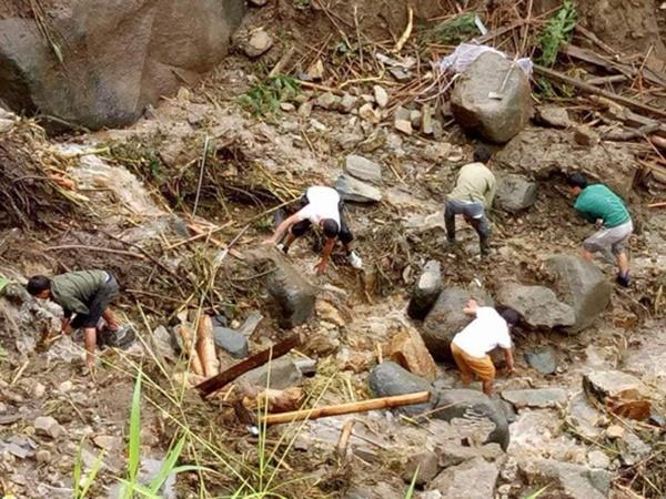 Sạt lở kinh hoàng ở Lai Châu: 12 người chết và mất tích, giao thông tê liệt hoàn toàn-4