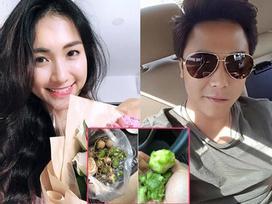 Số hưởng như Hòa Minzy: Ăn cũng được người yêu dùng răng cạo vỏ cóc dâng tận miệng
