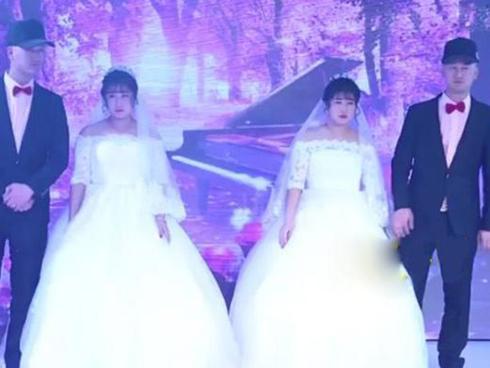 Đám cưới hai cặp song sinh khiến dân tình hoang mang không phân biệt nổi cô dâu, chú rể-6