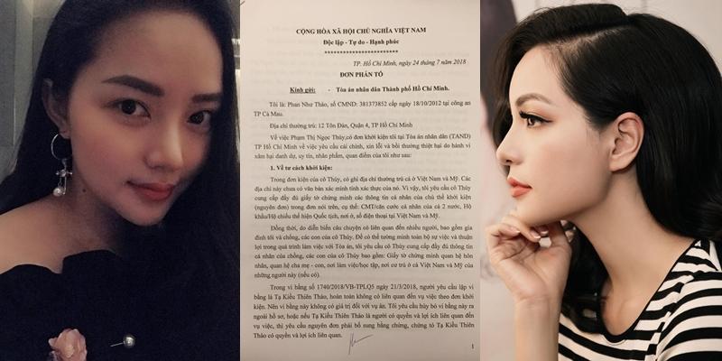 Bị report đơn phản tố Ngọc Thúy, người mẫu Phan Như Thảo bức xúc: Sao ai đó cứ phải điên cuồng lên thế?-1