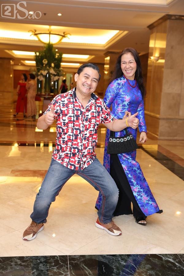 Dàn sao Việt tấp nập đến chúc mừng đám cưới con gái NSND Hồng Vân-8