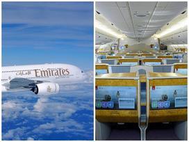 Bên trong máy bay chở khách lớn nhất thế giới