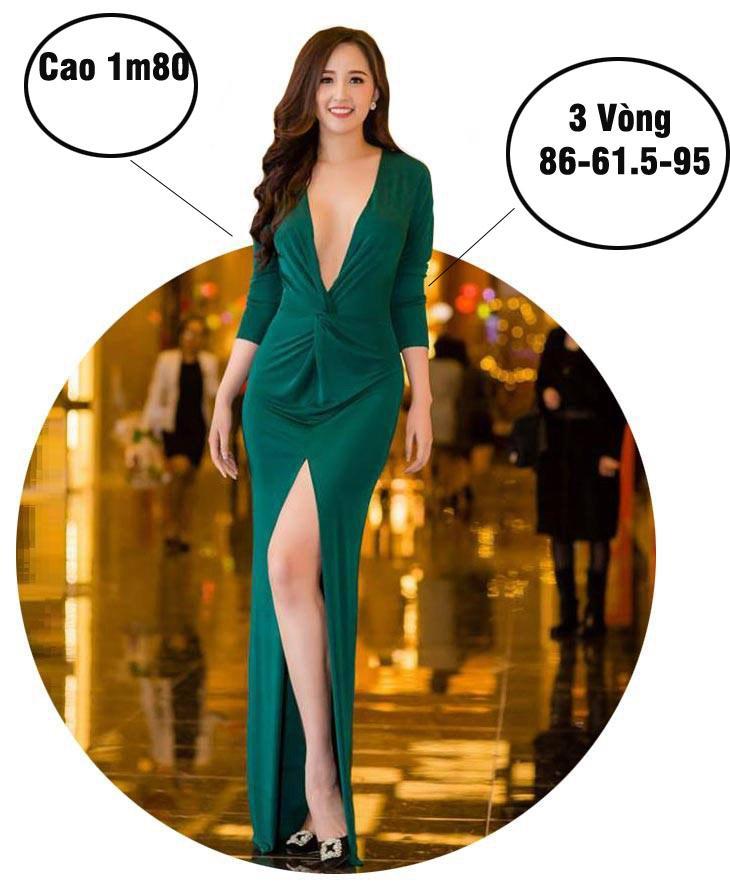 Mai Phương Thúy cao nhất, số đo nóng bỏng nhất lịch sử Hoa hậu Việt Nam?-1