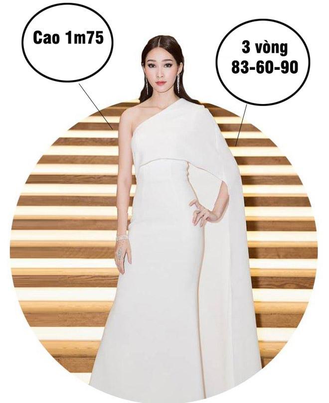 Mai Phương Thúy cao nhất, số đo nóng bỏng nhất lịch sử Hoa hậu Việt Nam?-3