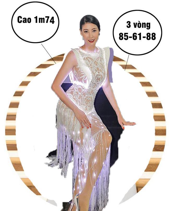 Mai Phương Thúy cao nhất, số đo nóng bỏng nhất lịch sử Hoa hậu Việt Nam?-6