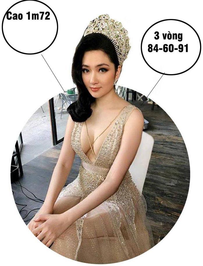 Mai Phương Thúy cao nhất, số đo nóng bỏng nhất lịch sử Hoa hậu Việt Nam?-7
