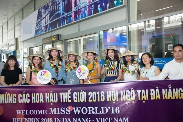 Dàn mỹ nhân Hoa hậu Thế giới 2016 bất ngờ đổ bộ Việt Nam-1