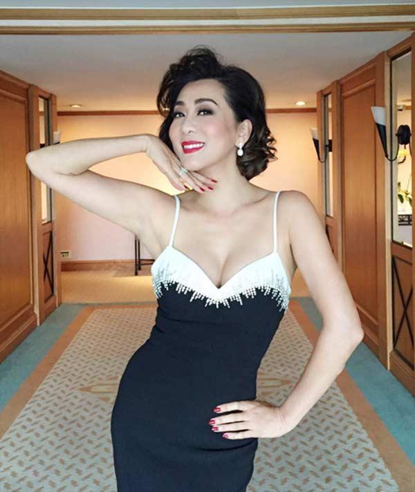 Sự thật đằng sau vẻ đẹp U50 của nữ MC hot nhất hải ngoại?-2
