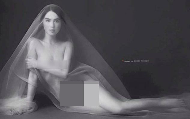 Ngọc Trinh đốt cháy mạng xã hội khi chia sẻ chùm ảnh khỏa thân chụp cách đây 4 năm-9