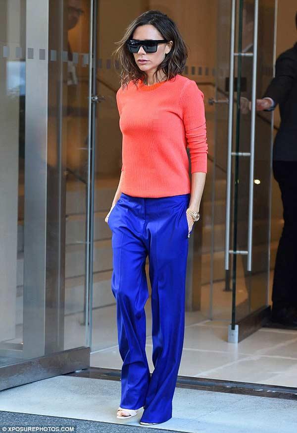Victoria Beckham: Nữ hoàng thả rông vẫn thanh lịch-3