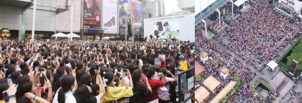 50.000 fan Thái xếp hàng dưới cái nắng chói chang: Ai nói sức hút của EXO hạ nhiệt?-1
