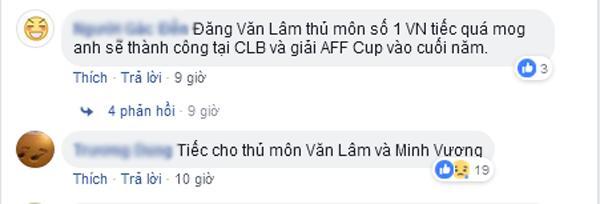 Thủ môn Văn Lâm bị loại khỏi danh sách U23 Việt Nam tham dự ASIAD 2018 khiến dân mạng tranh cãi-10