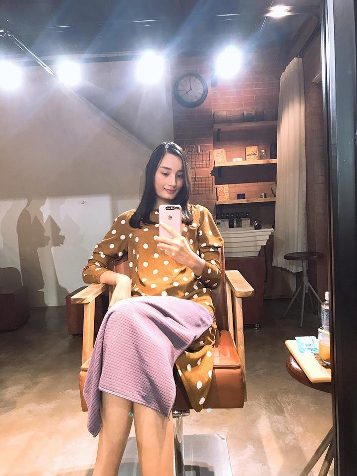Hoa hậu Thu Thảo thon gọn như thời con gái sau 4 tháng sinh con-6
