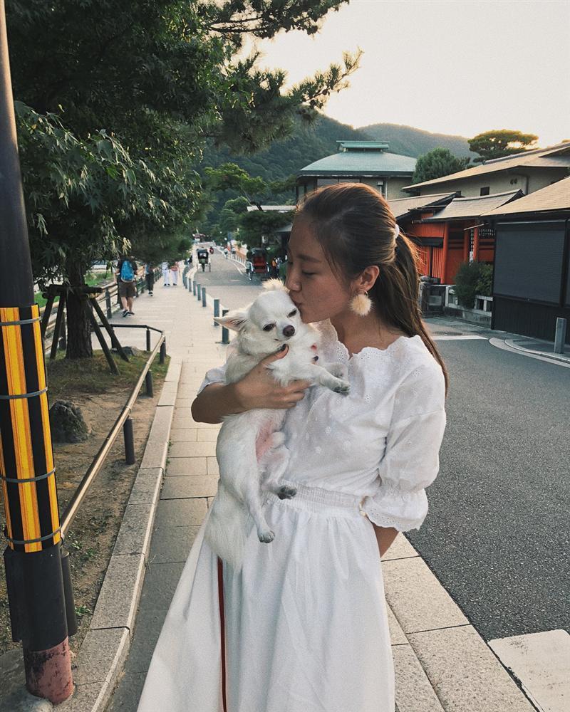 Hoa hậu Thu Thảo thon gọn như thời con gái sau 4 tháng sinh con-10