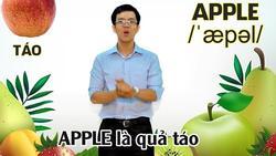Nhớ cực dễ các từ liên quan đến trái cây chỉ với bản nhạc chế tiếng Anh vui nhộn của thầy giáo 9X