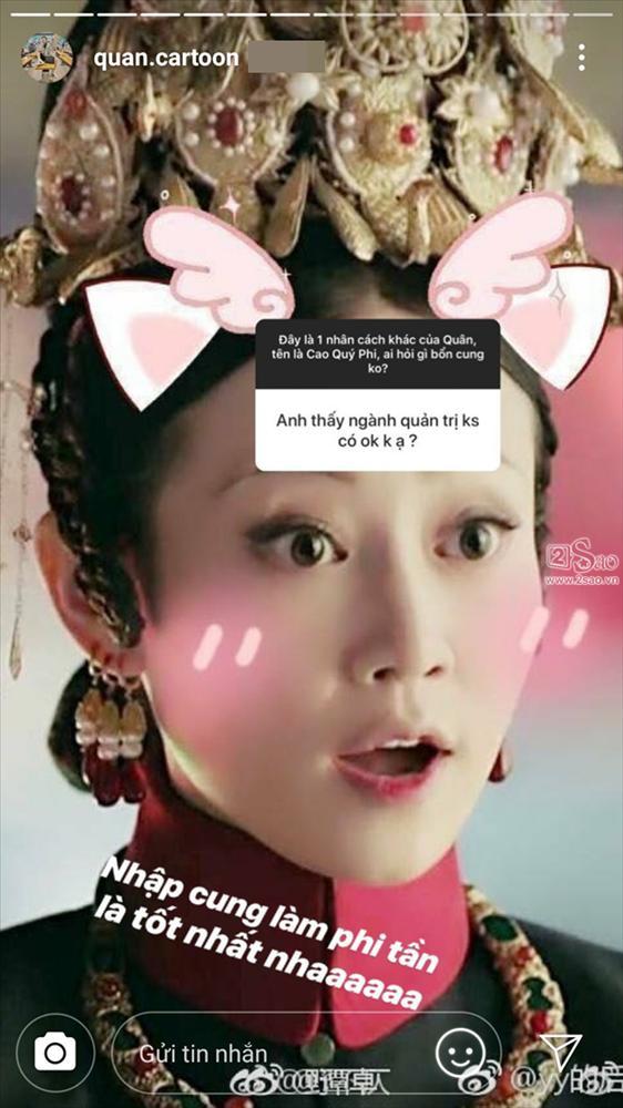 Bị Cao Quý Phi trong Diên Hi Công Lược nhập, Trung Quân Idol nói chuyện với ai cũng tự xưng là bổn cung-4