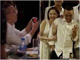 HOT: Lộ ảnh Hoàng Touliver quỳ gối cầu hôn Tóc Tiên