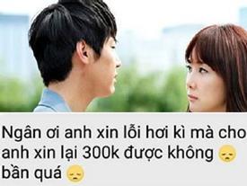 Chàng trai hậu chia tay ngay lập tức nhắn người yêu đòi tiền áo đôi 300 nghìn: 'Cho anh xin lại'