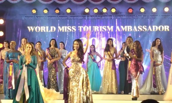 Phan Thị Mơ đăng quang Hoa hậu Đại sứ Du lịch Thế giới 2018-1