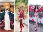Những chiếc váy giúp Phan Thị Mơ tỏa sáng và đăng quang Hoa hậu Đại sứ Du lịch Thế giới 2018