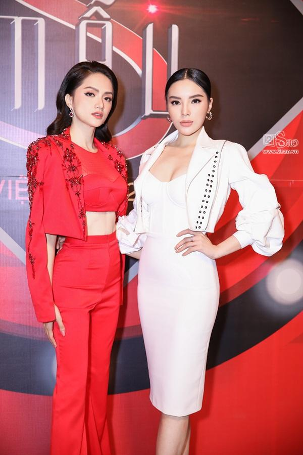 Song hậu Hương Giang - Kỳ Duyên bất ngờ trở thành huấn luyện viên Siêu mẫu Việt Nam 2018-8