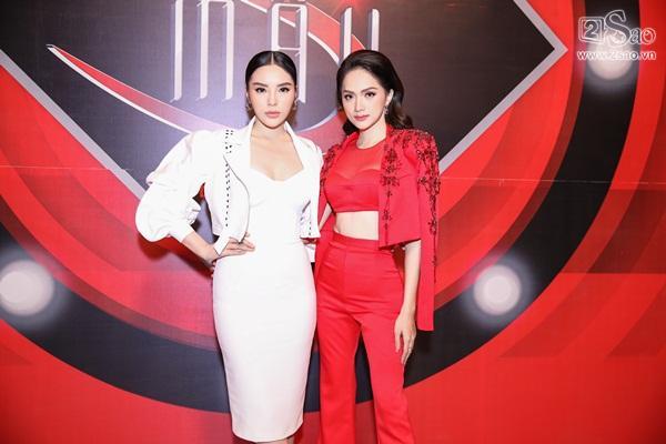 Song hậu Hương Giang - Kỳ Duyên bất ngờ trở thành huấn luyện viên Siêu mẫu Việt Nam 2018-9