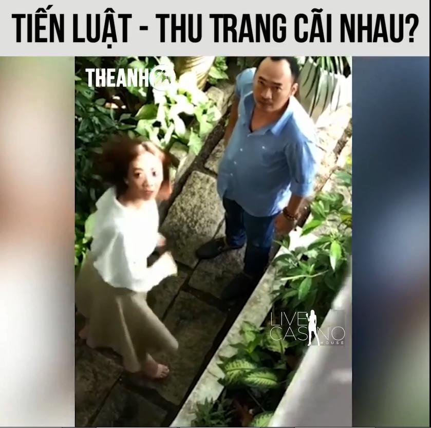 Dân mạng sốt rét với clip vợ chồng Thu Trang - Tiến Luật nổ tung tranh cãi ngay sau buổi offline tình tứ-2