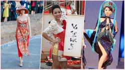 Áo dài Việt lai áo tắm, cúp ngực, hở lưng: Phản cảm, lố lăng?